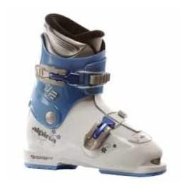 Dětské lyžařské boty Alpina J-2 white/blue