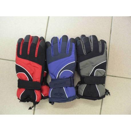 rukavice lyžařské Salomon-(červené,modré,šedé a vínové)