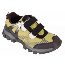 Dětská sportovní obuv BUGGA B022 GREEN - SOFTSHELLOVÁ