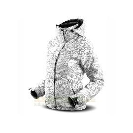 Dámská zimní bunda Trimm Carla -Grey Curl