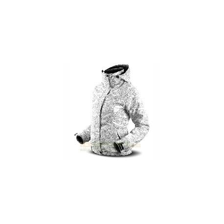 Dámská zimní bunda Trimm Carla Grey Curl